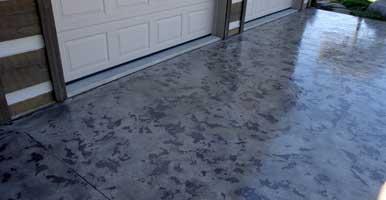 Decorative Flake Epoxy Flooring